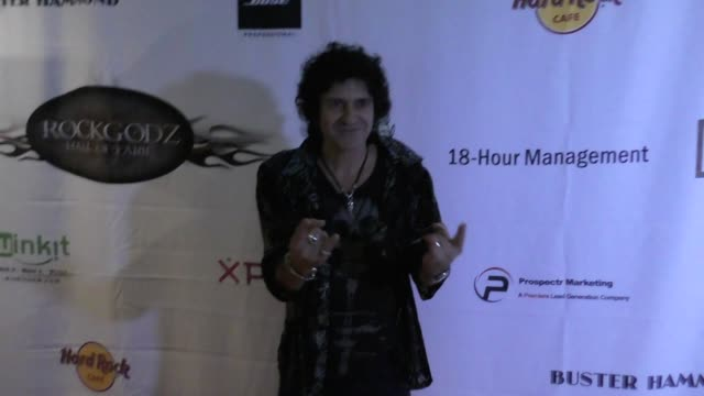Phil Soussan at the 5th Annual Rock Godz Hall Of Fame Awards at Hard Rock Cafe on October 26 2017 in Hollywood California