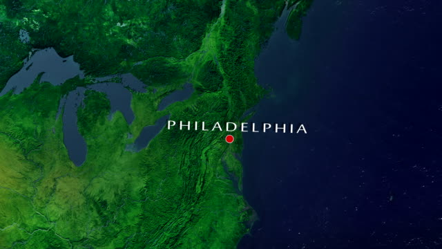 philadelphia 4k zoom in - philadelphia pennsylvania video stock e b–roll
