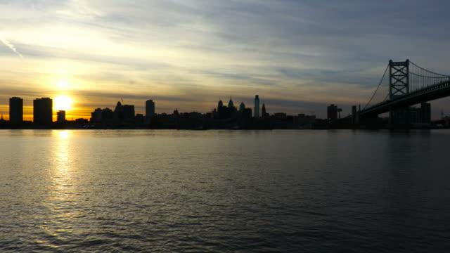 Philadelphia skyline and the Ben Franklin Bridge