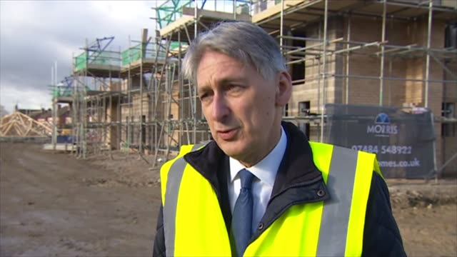 Philip Hammond and Sajid Javid interviews ENGLAND Leicester Glebelands Park EXT Philip Hammond MP interview SOT Agree with PM What I said last weekWe...