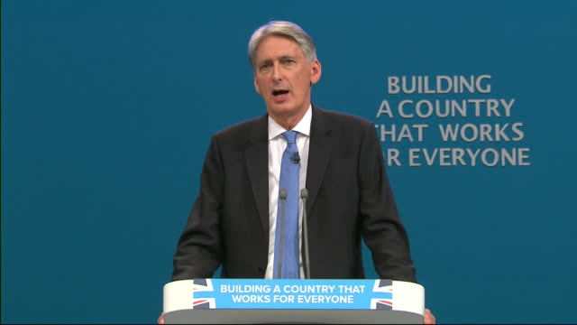 Philip Hammond saying a market economy is 'not perfect' but it is 'the best system designed for making people steadily better off over time'