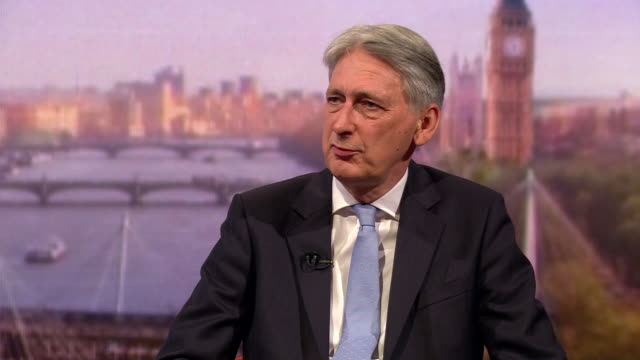 philip hammond saying parliament has been very clear that it doesn't want no deal but it also doesn't want to revoke article 50 - rejection stock videos & royalty-free footage