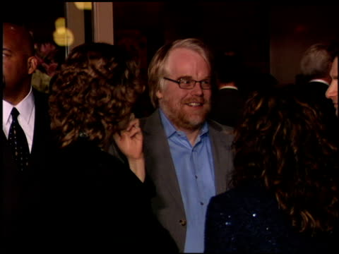 philip seymour hoffman at the 2006 lafca los angeles film critic's association awards at park hyatt in century city, california on january 17, 2006. - critic stock videos & royalty-free footage