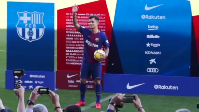 Philippe Coutinho officially joined Barcelona on Monday completing a move from Liverpool thought to be worth 160 million euros making it the third...