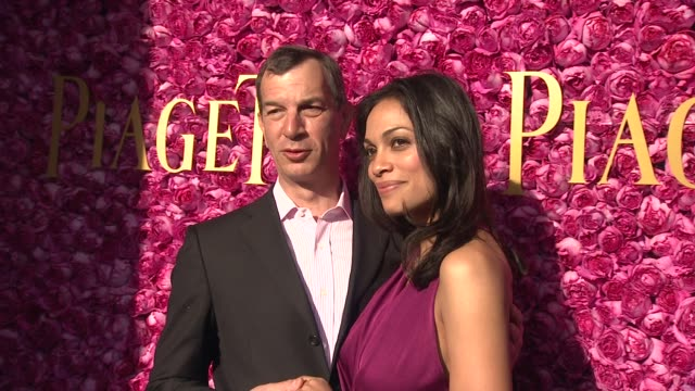 philippe leopoldmetzger rosario dawson at piaget at the 2012 film independent spirit awards on 2/25/12 in los angeles ca - rosario dawson stock videos and b-roll footage