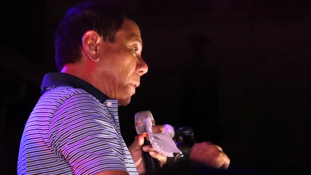 stockvideo's en b-roll-footage met philippine president rodrigo dutertes popularity has soared during his first three months in office an independent survey shows in an apparent... - filipijnse etniciteit