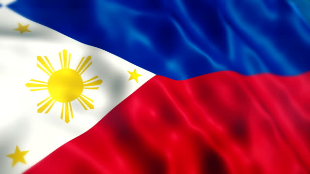 philippines flag - flag stock videos & royalty-free footage