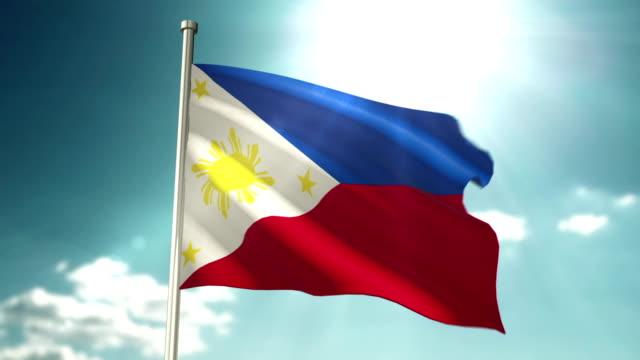 4K Philippines Flag