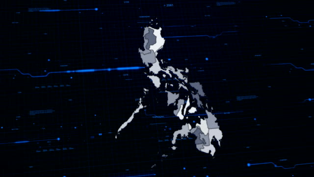 Philippines network map