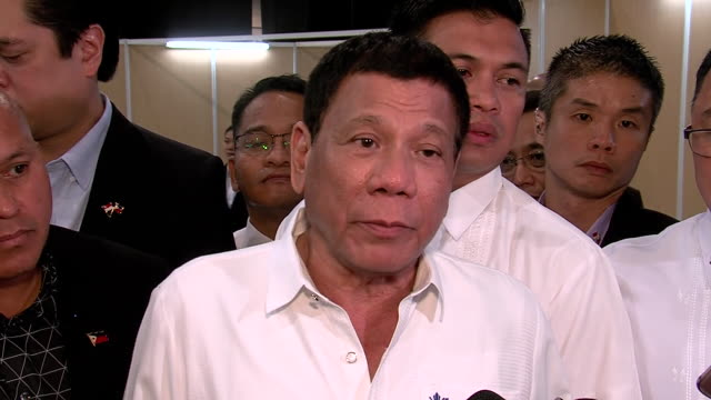 philippines president rodrigo duterte saying that he killed three drug dealers, but is unsure how many bullets were used - executioner stock videos & royalty-free footage
