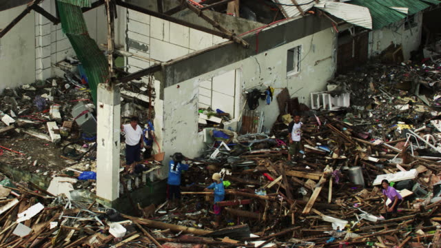 Philippines: Wreckages of Tacloban city