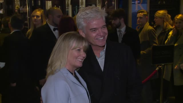 phillip schofield on february 20 2017 in london england - phillip schofield stock videos & royalty-free footage