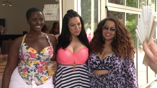 philomena kwao and gabi gregg at torrid #ownit pool party at the commune ace hotel at ace hotel on april 09 2016 in palm springs california - palm springs california pool stock videos & royalty-free footage