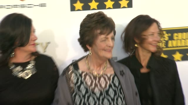 Philomena Lee at 19th Annual Critics' Choice Movie Awards Arrivals at The Barker Hanger on in Santa Monica California