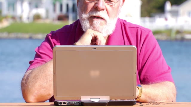 phil's laptop in nature - silver surfer stock videos & royalty-free footage