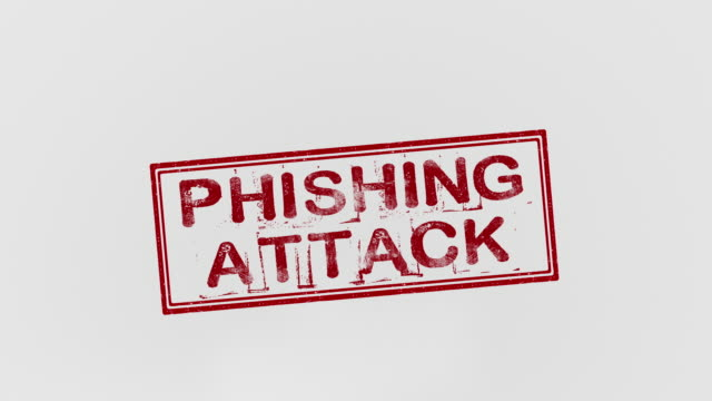 phishing-angriff - briefmarke stock-videos und b-roll-filmmaterial