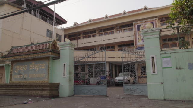 phnom peng ministry of environment - cambodian culture stock videos and b-roll footage