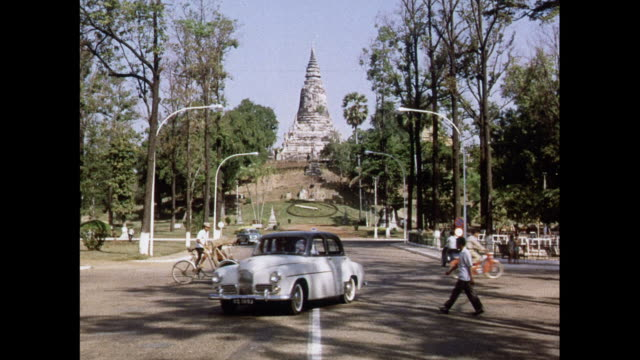 montage phnom penh city scenes - cambodia stock videos and b-roll footage