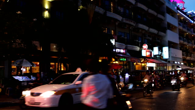 phnom penh street scene - cambodia stock videos and b-roll footage