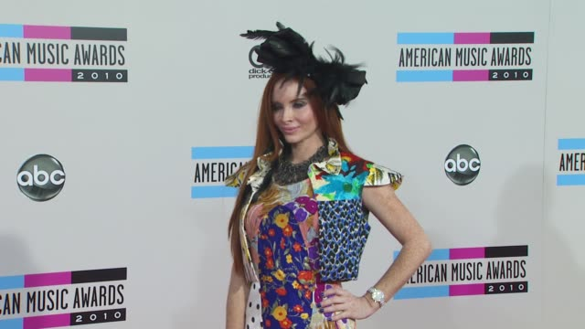 phoebe price at the 2010 american music awards arrivals at los angeles ca - american music awards stock videos and b-roll footage
