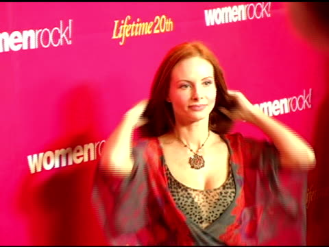 phoebe price at the 5th annual women rock concert at the wiltern theater in los angeles california on september 28 2004 - wiltern theater stock videos and b-roll footage