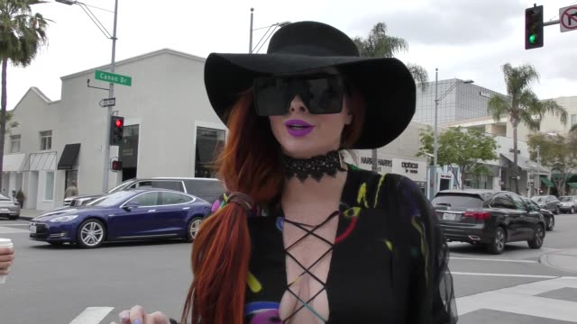 INTERVIEW Phoebe Price talks about the Royal Wedding in Beverly Hills in Celebrity Sightings in Los Angeles