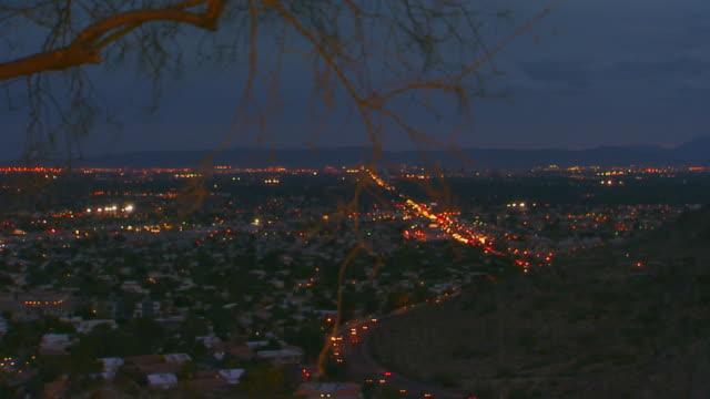 Phoenix, ArizonaCity at dusk