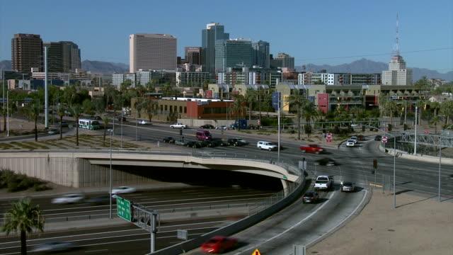 Phoenix Down Town Time lapse