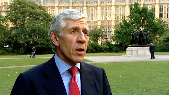 kate middleton and tony blair may be among victims london westminster ext jack straw mp interview sot need widest possible police investigation /... - jack straw stock videos & royalty-free footage