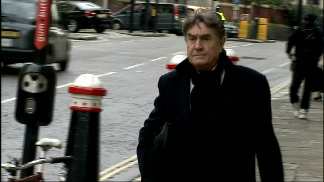 Arrivals ENGLAND London Old Bailey EXT Mark Hanna along as arriving at court / Andy Coulson / Timothy Langdale QC arriving at court / Rebekah Brooks...