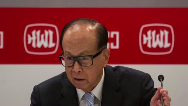 Photo Montage of Li Ka shing Chairman and Founder Cheung Kong Holdings Ltd