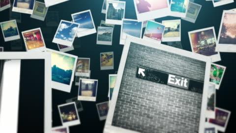 vídeos y material grabado en eventos de stock de fotografía de viajes oscuridad - transferencia de impresión instantánea