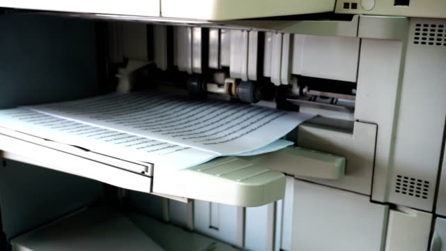 photocopier digital - fax machine stock videos & royalty-free footage