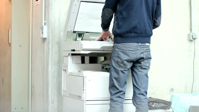 photocopying - photocopier stock videos and b-roll footage