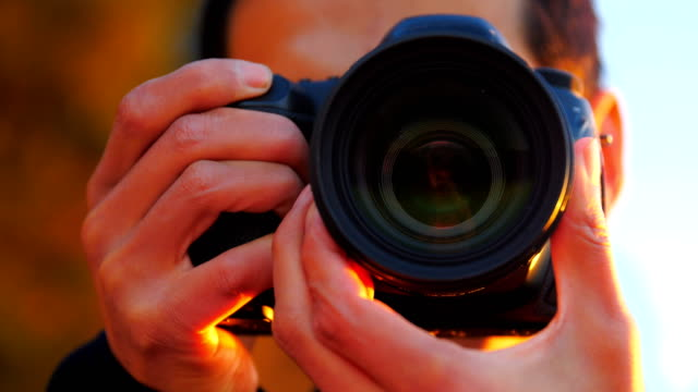 photographer at working - photograph stock videos & royalty-free footage