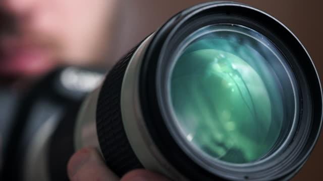 photographer - デジタル一眼レフカメラ点の映像素材/bロール