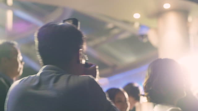 Photographer Working At Party
