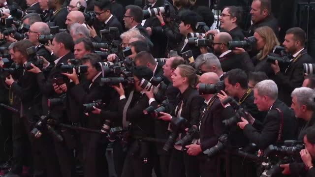 Photographers at GIF The 72nd Cannes Film Festival on May 14 2019 in Cannes France
