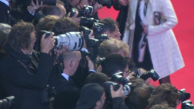 ATMOSPHERE Photographers at 'Maps To The Stars' Red Carpet at Palais des Festivals on May 19 2014 in Cannes France