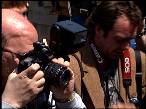 photographers at the 72nd birthday party for hugh hefner at playboy mansion in los angeles california on april 9 1998 - playboy mansion stock videos & royalty-free footage