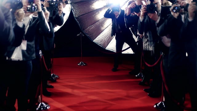 photographers - red carpet event stock videos & royalty-free footage