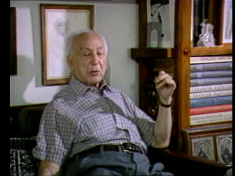 andre kertesz interview int andre kertesz interview sot importance of looking kertesz taking photographs of glass obkects on his window ledge new... - polaroid video stock e b–roll