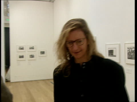 Annie Leibovitz interview Annie Leibovitz interview continued SOT