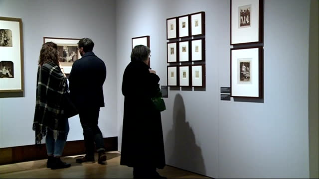 history of photography exhibition at the science museum england london science museum int various shots science museum photographic exhibition... - fotografische themen stock-videos und b-roll-filmmaterial