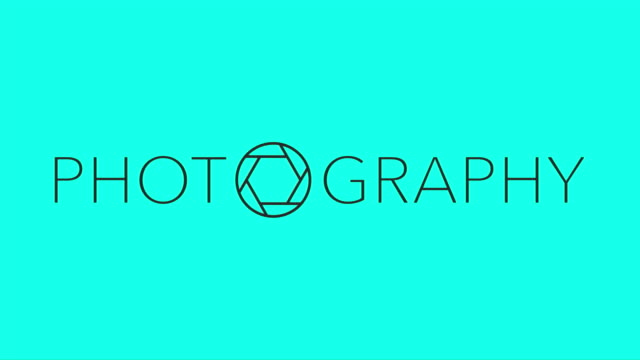 vidéos et rushes de photographie - vecteur animé - ouverture du diaphragme