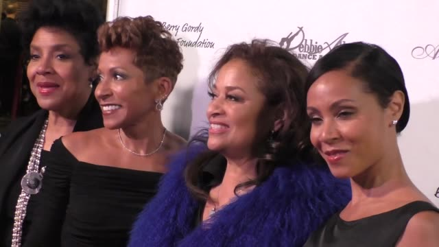 phylicia rashad adrienne banfieldjones debbie allen jada pinkettsmith at the wallis annenberg center for the performing arts presents us premiere of... - debbie allen stock videos & royalty-free footage