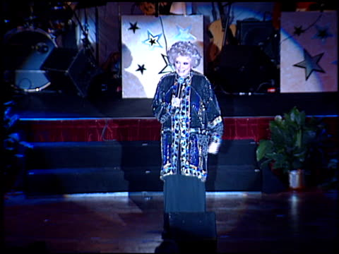 phyllis diller at the thalians 46th annual ball at century plaza in century city, california on october 13, 2001. - thalians ball stock-videos und b-roll-filmmaterial