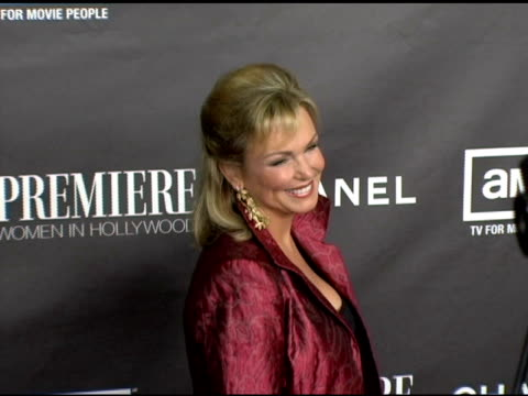 phyllis george at the 12th annual premiere women in hollywood at the beverly hilton in beverly hills california on september 20 2005 - phyllis george stock videos & royalty-free footage