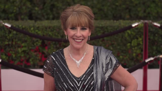 phyllis logan at the 22nd annual screen actors guild awards - arrivals at the shrine auditorium on january 30, 2016 in los angeles, california. 4k... - shrine auditorium stock videos & royalty-free footage