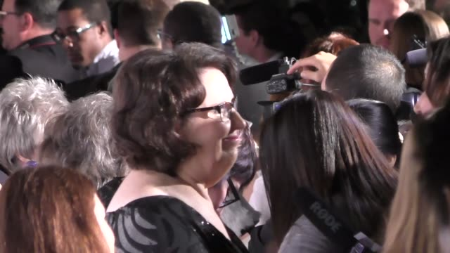Phyllis Smith at the Annie Awards at UCLA's Royce Hall in Westwood at Celebrity Sightings in Los Angeles on February 06 2016 in Los Angeles California